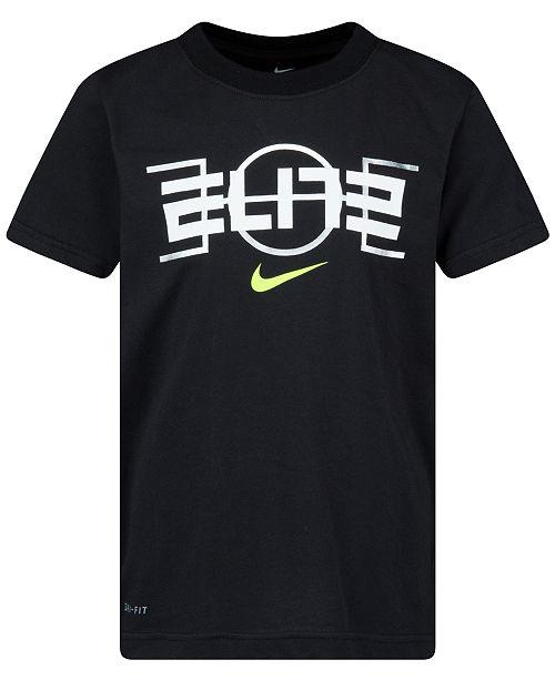 Nike Toddler Boys Elite Court Logo-Print T-Shirt