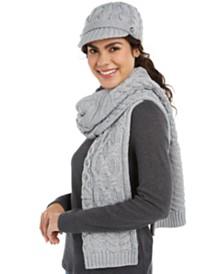 Michael Michael Kors Cable-Knit Hats, Headbands & Scarf