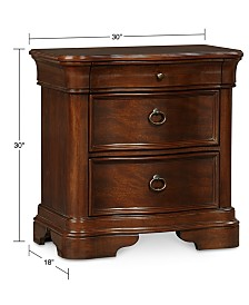 Bordeaux II Nightstand, Created for Macy's