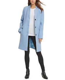 DKNY Stand-Collar Coat, Created For Macy's