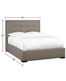 Casey Upholstered King Bed