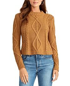 RACHEL Rachel Roy Cable-Knit Sweater