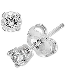 EFFY® Diamond Stud Earrings (1/4 ct. t.w.) in 14k White Gold