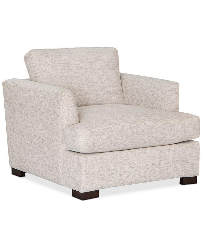 """Furniture - Juliam 38"""" Fabric Chair"""