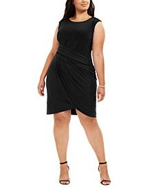 Plus Size Side-Ruched Dress