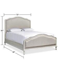 Carter Upholstered King Bed
