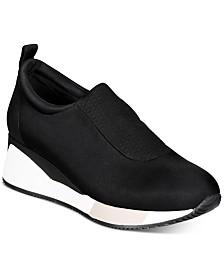 Alfani Women's Walkerr Wedge Sneakers, Created for Macy's