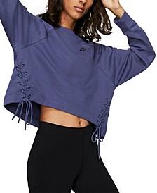 Sportswear Essential Fleece Lace-Up Top