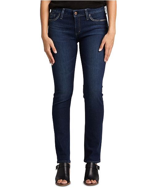 Silver Jeans Co. Elyse Straight Jean