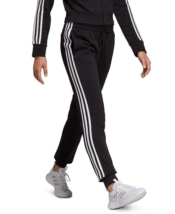 adidas Women's Essentials Fleece 3-Stripe Joggers