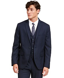 I.N.C. Men's Slim-Fit Micro Check Suit Jacket, Created for Macy's