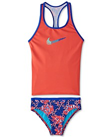 Big Girls 2-Pc. Racerback Tankini Swim Suit