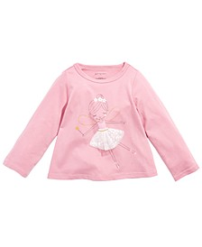 Baby Girls Cotton Fairy T-Shirt, Created for Macy's
