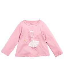 First Impressions Baby Girls Cotton Fairy T-Shirt, Created for Macy's
