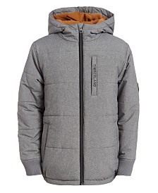 Timberland Big Boys Saco Hooded Puffer Jacket