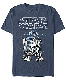 Men's Classic Winter R2-D2 Short Sleeve T-Shirt