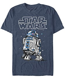 Star Wars Men's Classic Winter R2-D2 Short Sleeve T-Shirt