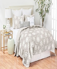 C&F Home Guinevere King Quilt Set