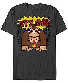 Men's Donkey Kong It's On Short Sleeve T-Shirt