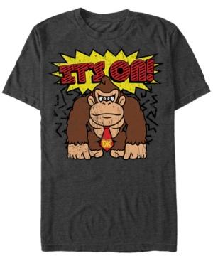 Nintendo Men's Donkey Kong It's On Short Sleeve T-Shirt