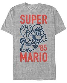 Men's Super Mario Flying Raccoon Mario Short Sleeve T-Shirt