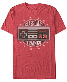 Men's NES Controller Classically Trained Short Sleeve T-Shirt