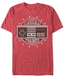 Nintendo Men's NES Controller Classically Trained Short Sleeve T-Shirt