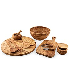 Olive Wood Serveware Collection