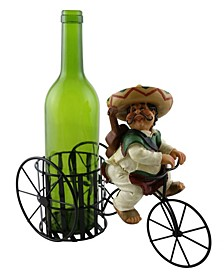 Mexican Guitar Player Wine Bottle Holder