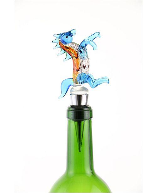 Three Star Horse Bottle Stopper