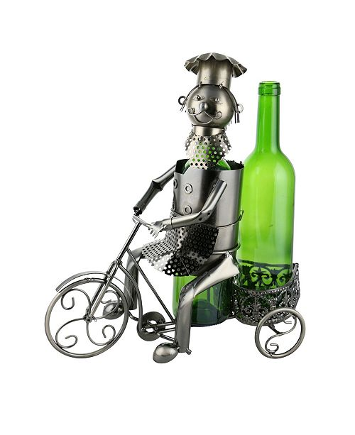 Wine Bodies Tricycle Rider 2 Bottles Wine Holder