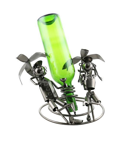 Wine Bodies Couple At The Beach Bottle Holder