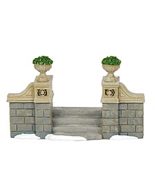 D56 Villages Classic Christmas Stairs Accessory
