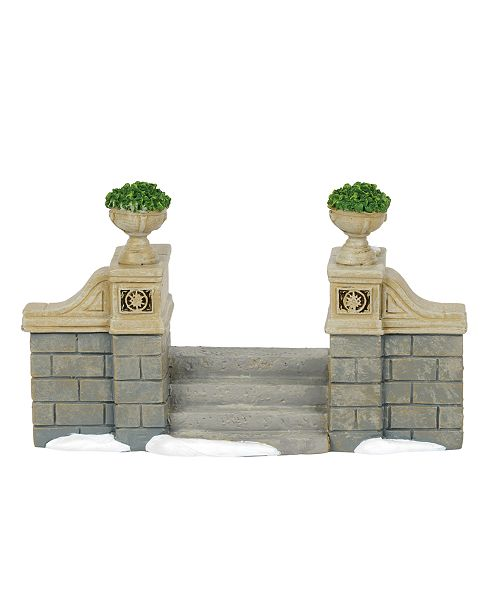 Department 56 D56 Villages Classic Christmas Stairs Accessory