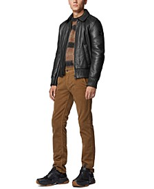 BOSS Men's Slim-Fit Aviator-Style Jacket