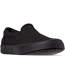 Men's Sudler Dedham Slip-Resistant Slip-On Work Sneakers from Finish Line