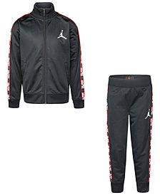 Jordan Little Boys 2-Pc. Tricot Jacket & Jogger Pants Set