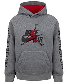 Jordan Big Boys Nike Air Jumpman-Print Hoodie