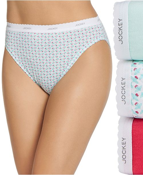 Jockey Plus Size Classics French Cut Underwear 3 Pack 9481