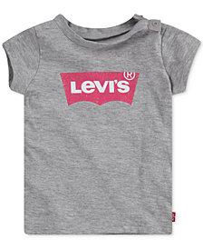 Levi's® Baby Girls Cotton Logo-Print T-Shirt