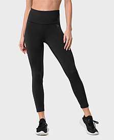Yvette High Waist Running Tights Training Tights Capris Active Leggings for Women Tummy Control - Sculpt Series
