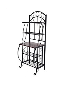 Valencia Collection 5 Shelf Steel Bakers Rack