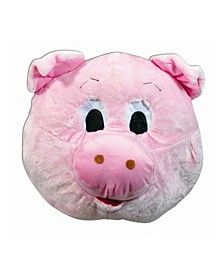Adult Pig Mascot Mask