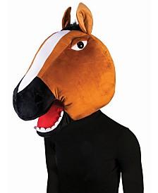 BuySeasons Adult Horse Mascot Mask