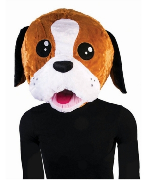 Adult Puppy Mascot Mask
