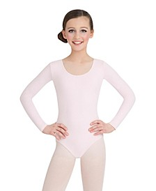 Big Girls Long Sleeve Leotard