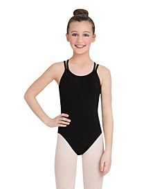 Big Girls Double Strap Camisole Leotard