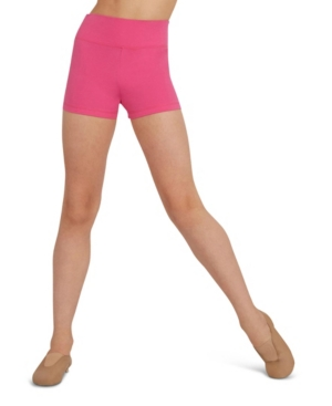 Capezio Big Girls High Waisted Short