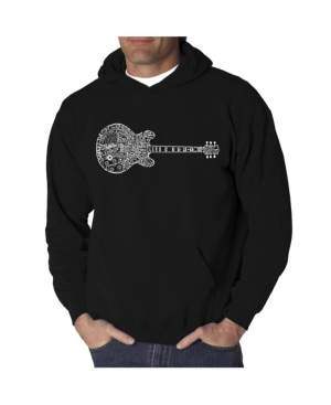 La Pop Art Men's Word Art Hooded Sweatshirt - Blues Legends