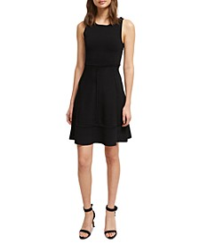Tia Tobey Fit & Flare Dress